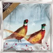 The Royal Marsden Cancer Charity Pack of 8 Pheasants Charity Christmas Cards